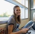 Estudiante en una rotura