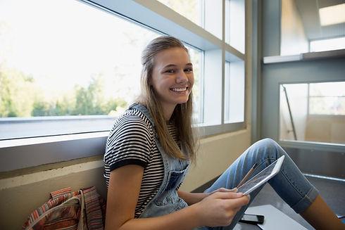 Student op een Onderbreking