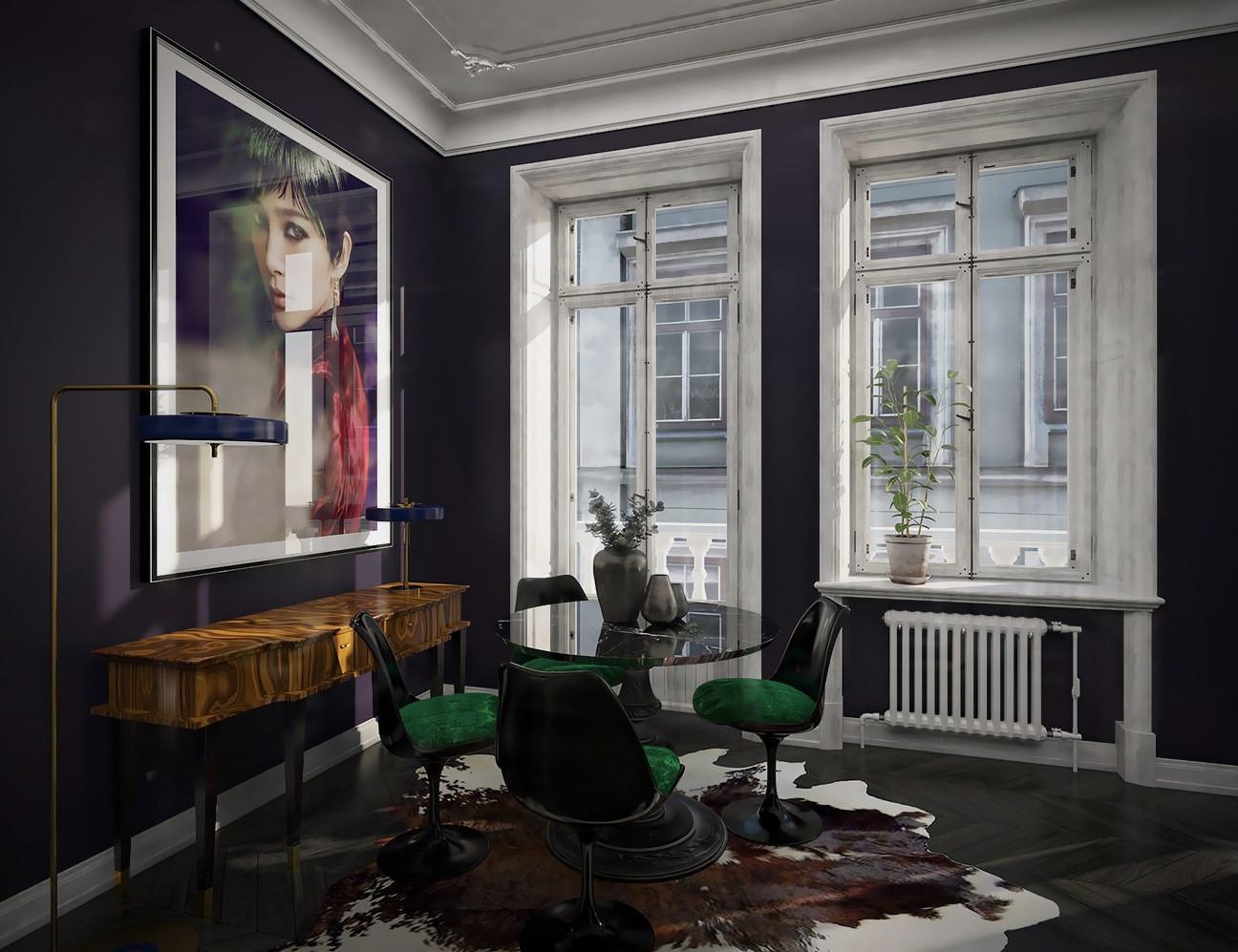 Montreal Interior Decorator-Dining Room
