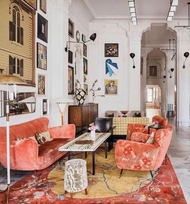 Interior design-living room derocations