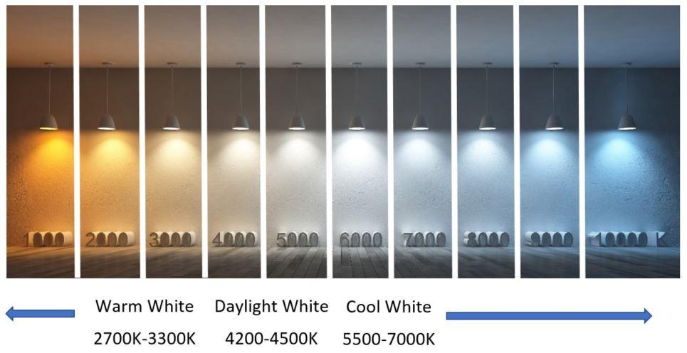 light bulb color temperature