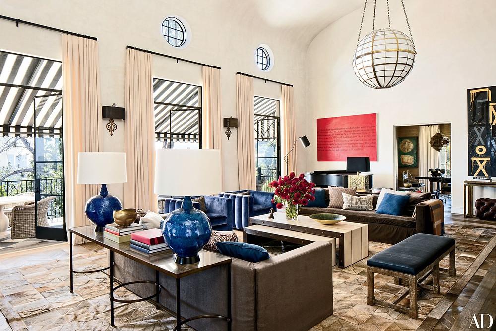 personalized interior design-living room decor