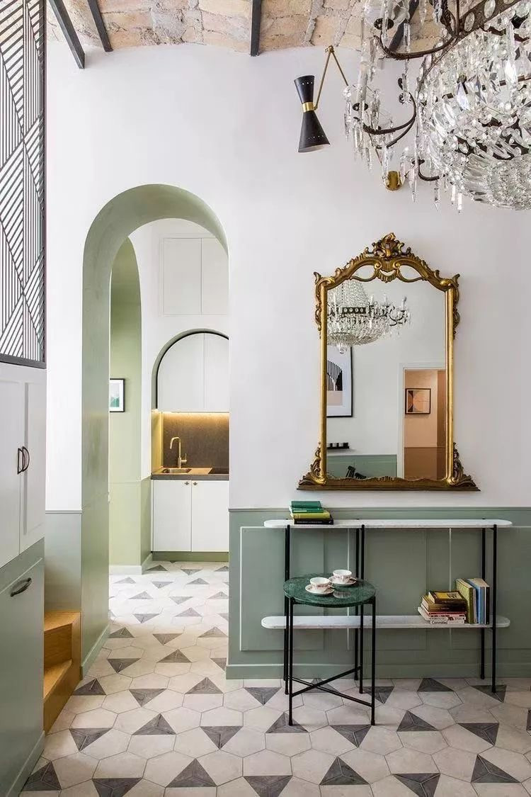mix match, eclecticism, modern interior design, classic style, French style