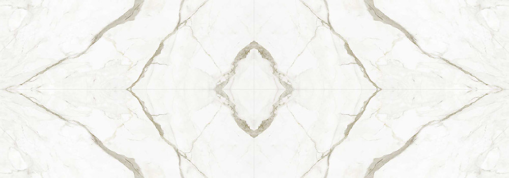 Book-matched marble