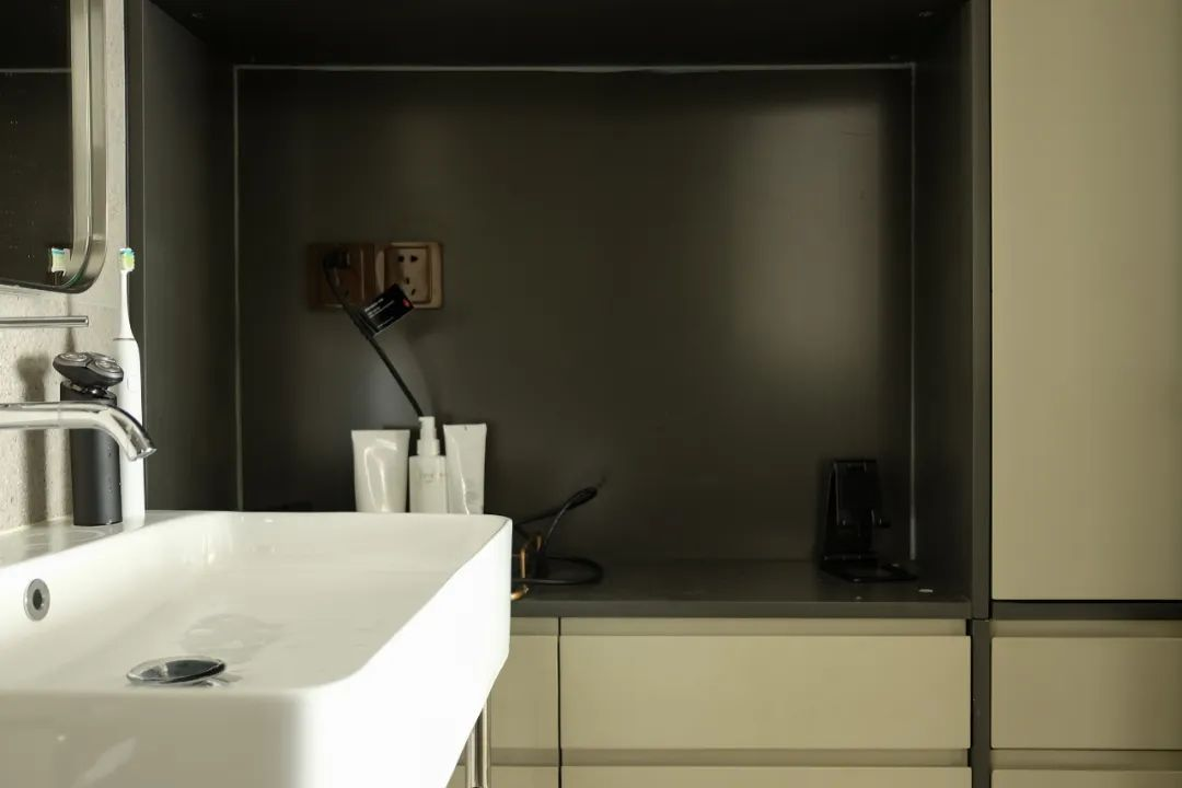 Master bathroom interior design details