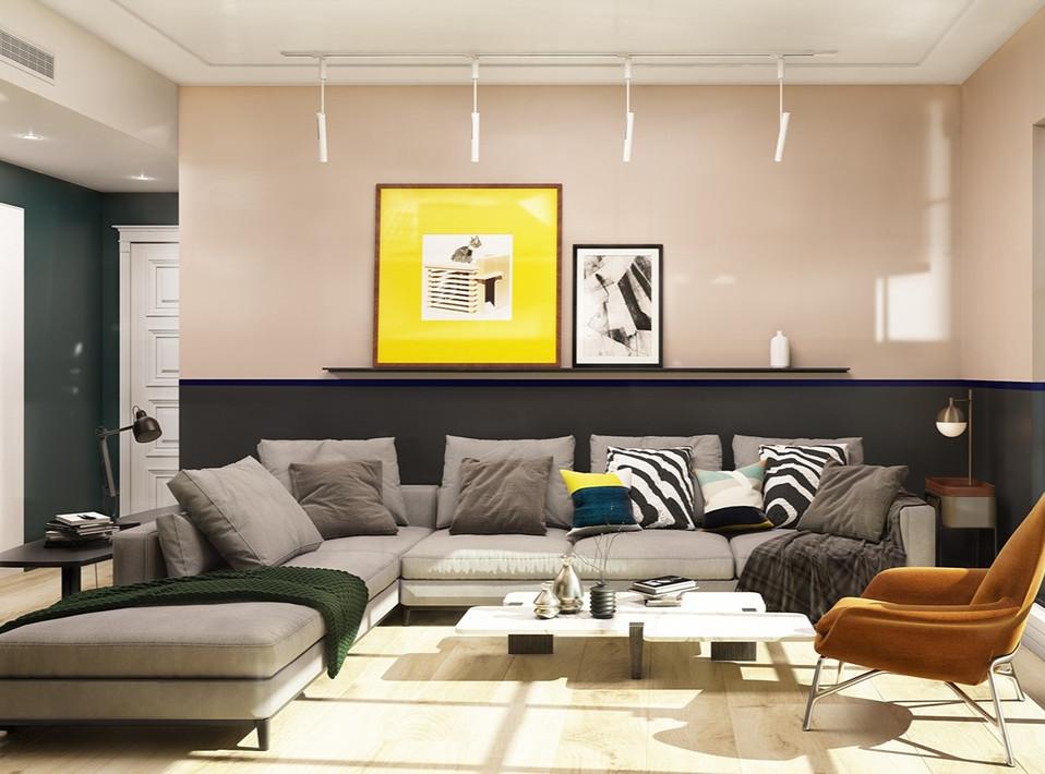 Interior-Designer-Living Room Renovation
