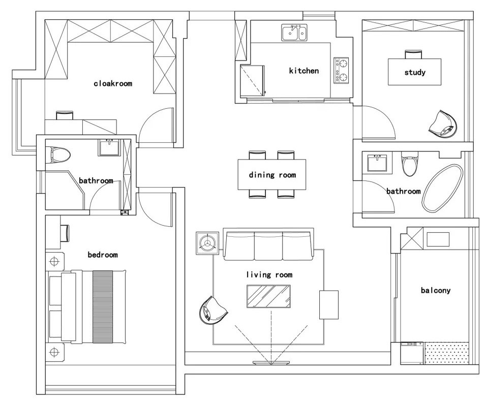 Interior renovation plan