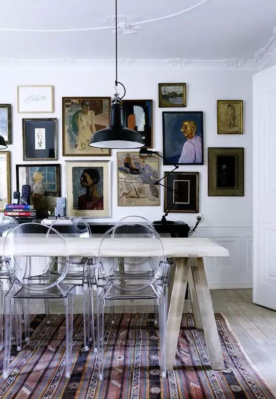Eclectic interior designer, modern interior design, industrial style, Scandinavian style