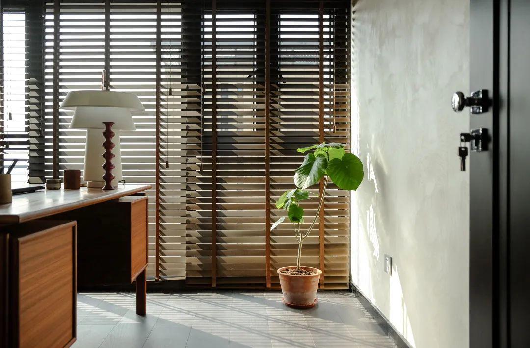Study interior design in a condo project