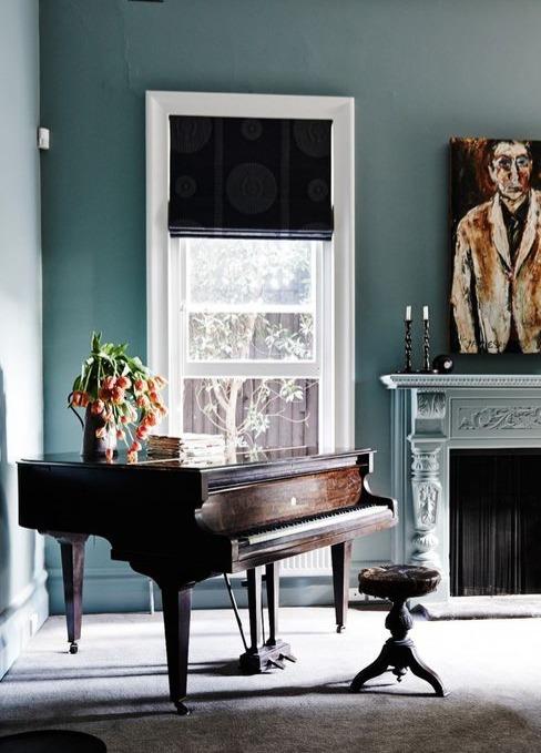 Interior design tips-piano as a focal point