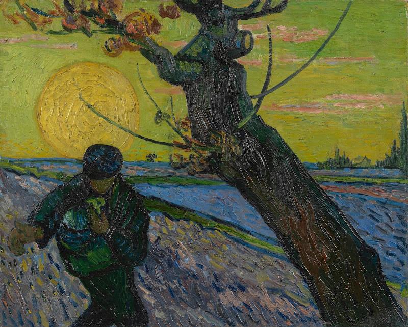 Post impressionist, Van Gogh, The Sower
