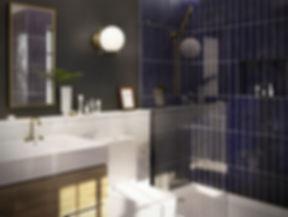 Interior Design Montreal-modern bathroom