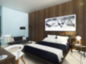 Hotel guestroom design