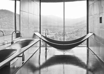 Modern hotel bathroom design