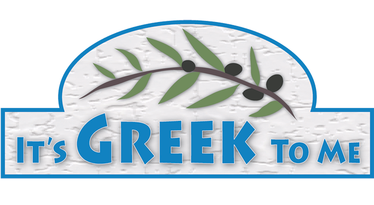 It's Greek to Me Logo
