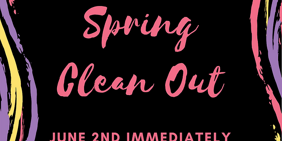 Spring Clean Out