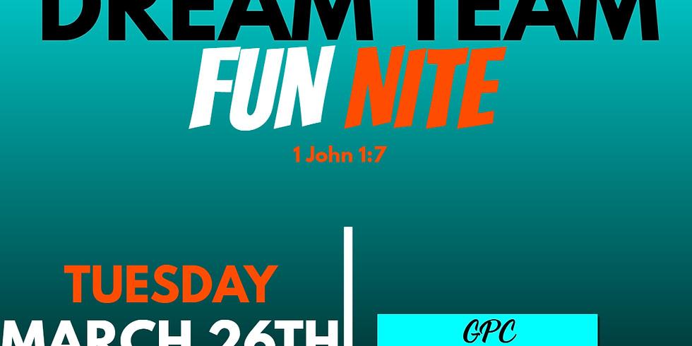 DREAM Night Fellowship Night