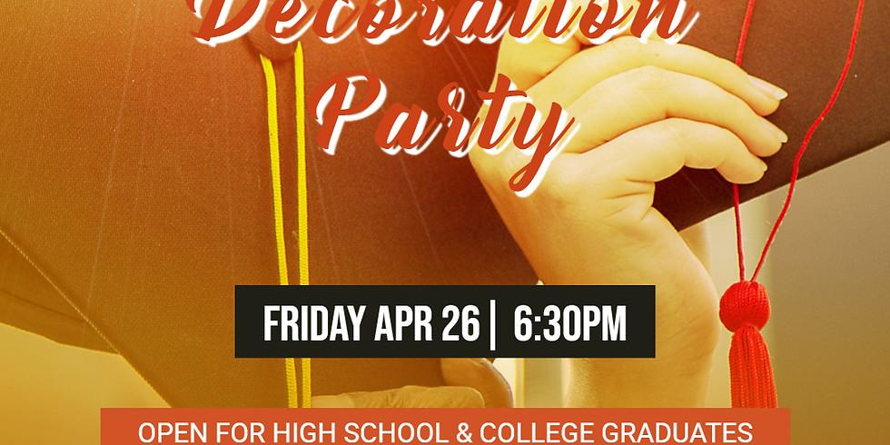Graduation CAP Decoration Party