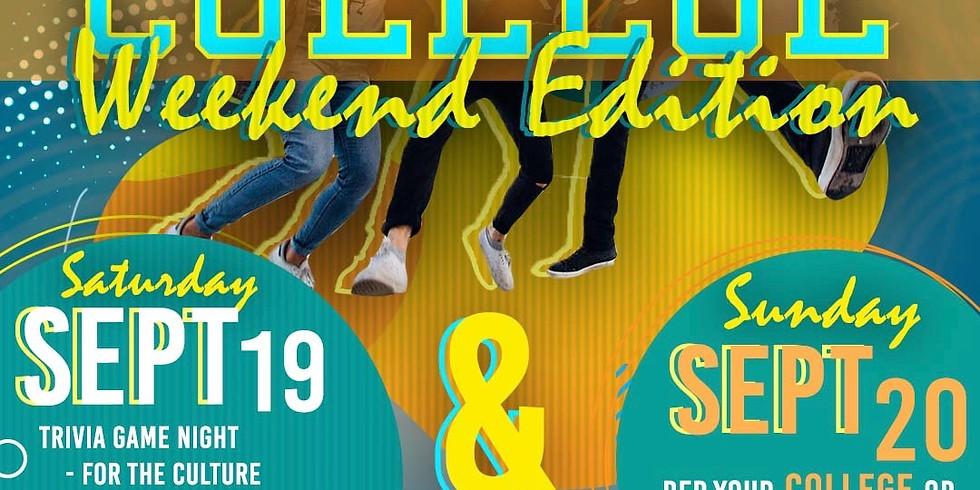 College Weekend Edition | Sunday Worship