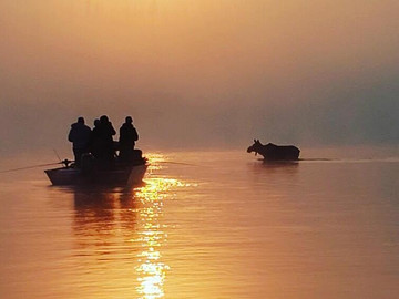 River Drift Fishing