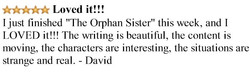 The Orphan Sister Quote - Loved it Quote - Gift for Twin sisters.jpg