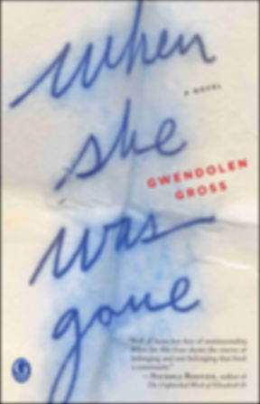 When She Was Gone - Womens Suspense Fiction Mystery Novel - Gwendolen Gross