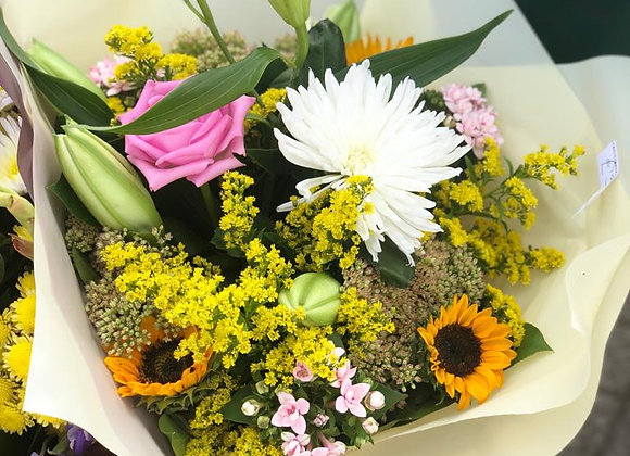 Lily & Sunflower Bouquet