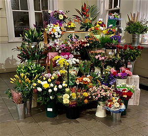 Horley Train Station Flower Stall