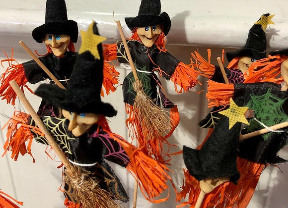 Witches on a stick