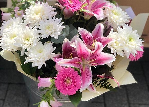Lily & Campanula Bouquet