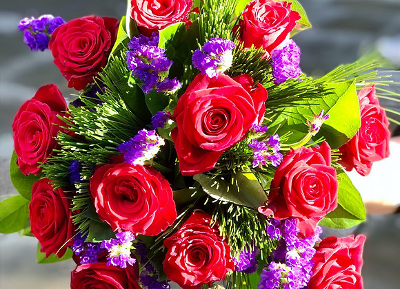 I'm Here bouquet of Fresh Flowers