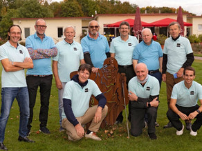 Hessen-Golfer zweite beim writer-cup!