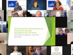 Premiere erster VFS Online-PresseTalk