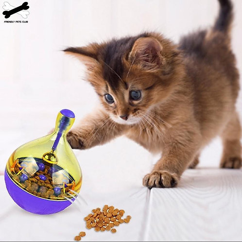 Fun Bowl Feeder For Cats and Dogs Feeding Toys