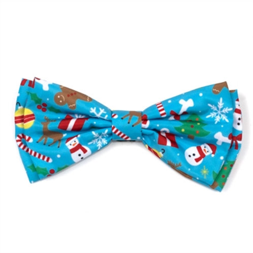 Winter Wonderland Bow Tie from The Worthy Dog