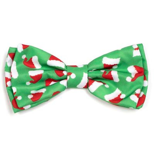 Santa Hats Bow Tie from The Worthy Dog