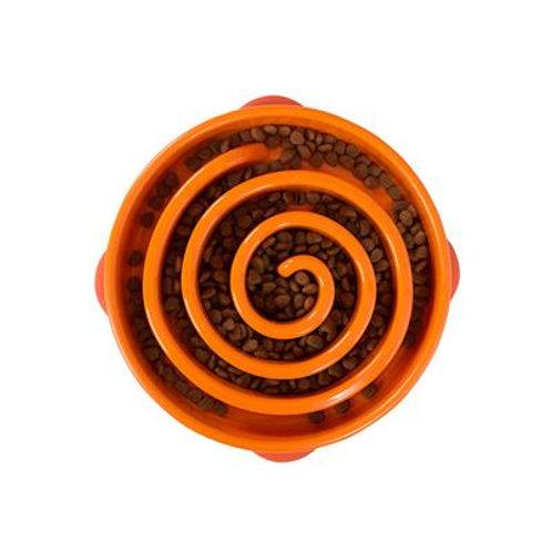 Outward Hound - Fun Feeder Swirl Orange