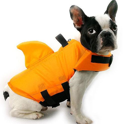 Pet Dog Life Vest Shark