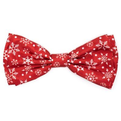 Let It Snow Bow Tie from The Worthy Dog