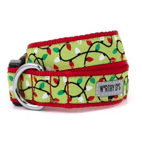Lit Dog Collar Collection from The Worthy Dog