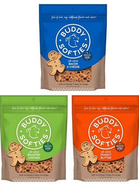 Buddy Biscuits Healthy Whole Grain Soft & Chewy Treats 6 oz.
