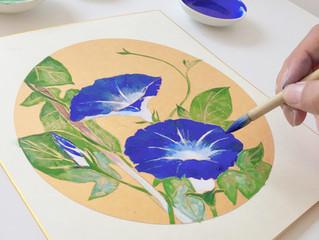 日本画Workshop〜朝顔 Morning Glory〜
