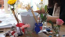 絵画教室風景花.jpg