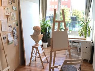 絵画教室Atelier MANABUオープンします!!