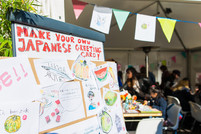 大盛況!@Japan Festival ~Workshop 絵手紙~