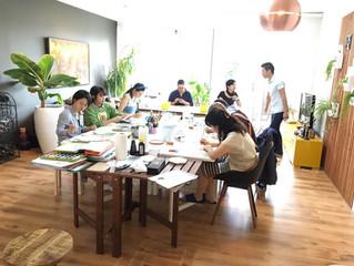 ワークショップ・日本画模写実習を終えて。The report of the summer workshop