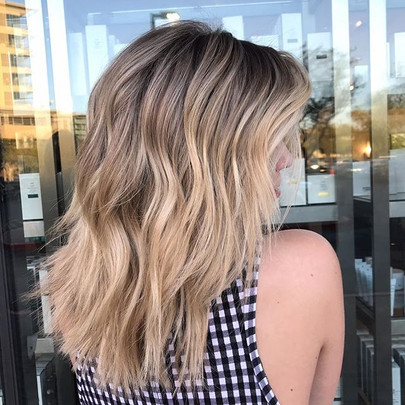 E R I C A🌴__From solid blonde all over