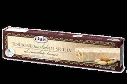 Toronne tendre pistache amande choco blanc 150gr