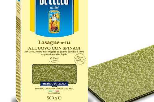 Lasagne verte Dececco 500gr