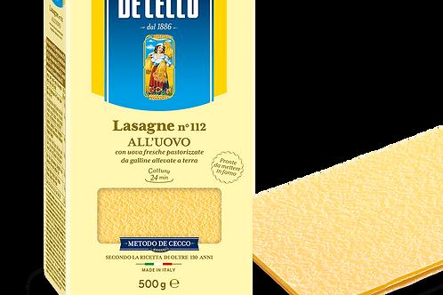 Lasagne Dececco 500gr